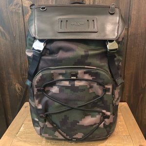 NWT Authentic Coach Terrain Camouflage Backpack